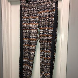 Size large joggers